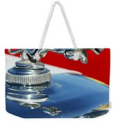 Jaguar Hood Ornament 2 Weekender Tote Bag