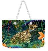 Jaguar Meadow  Variant 1 Weekender Tote Bag
