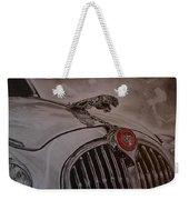 Jaguar Mk II Bonnet Weekender Tote Bag