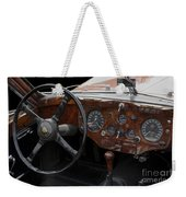 Jaguar Odtimer Steering Wheel Weekender Tote Bag