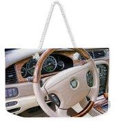 Jaguar S Type Interior Weekender Tote Bag
