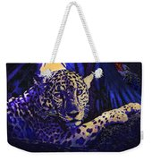 Jaguar- The Spirit Of Belize Weekender Tote Bag