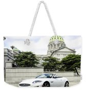Jaguar Xk And The Capitol Building Weekender Tote Bag