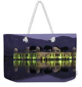Jai Mahal Water Palace Weekender Tote Bag