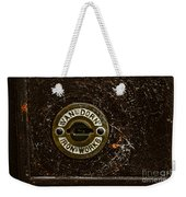 Jail Cell Door Lock Close Up Weekender Tote Bag