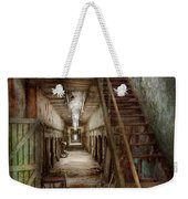 Jail - Eastern State Penitentiary - Down A Lonely Corridor Weekender Tote Bag