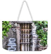 Jail Room Window Weekender Tote Bag