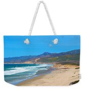 Jalama Beach Santa Barbara County California Weekender Tote Bag
