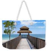 Jamaican Paradise Weekender Tote Bag