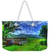 Jamaican Sky Weekender Tote Bag