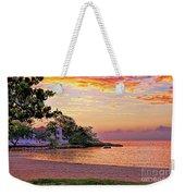 Jamaican Sunset Weekender Tote Bag