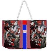 James Earl Jones Smoking Twice Collage The Great White Hope Set Globe Arizona 1969-2012 Weekender Tote Bag