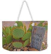 James Hickey Shot  Weekender Tote Bag