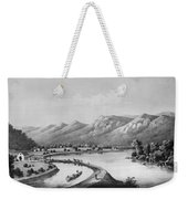James River Canal, 1857 Weekender Tote Bag