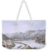 James River Canal Near The Mouth Weekender Tote Bag