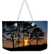 James River Sunset Weekender Tote Bag
