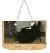 James Whistler 1 Weekender Tote Bag