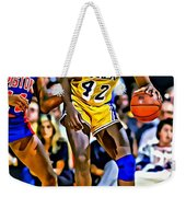 James Worthy Weekender Tote Bag