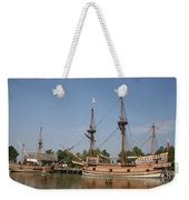 Jamestown Historic Sailingships Weekender Tote Bag