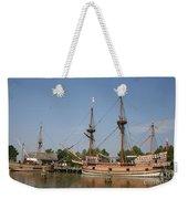 Jamestown Historic Sailingships Weekender Tote Bag