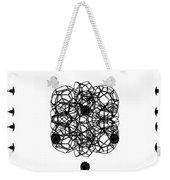 Jammer Asymmetrical Symmetry Weekender Tote Bag