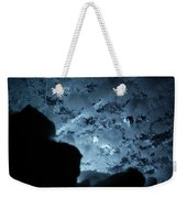 Jammer Deep Blue 001 Weekender Tote Bag