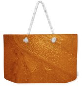 Jammer Tangerine Abstract Weekender Tote Bag