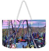 Jammin At Twilight Weekender Tote Bag