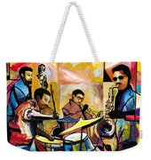 Jammin N Rhythm Weekender Tote Bag