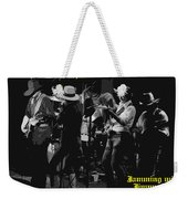 Jamming With Jimmy Hall Weekender Tote Bag