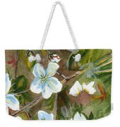 Jane's Apple Blossoms 1 Weekender Tote Bag