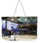 Jane's Carousel 2 In Dumbo - Brooklyn Weekender Tote Bag
