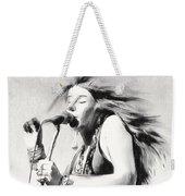Janis Joplin Weekender Tote Bag