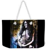 Janis Joplin - Gold Weekender Tote Bag