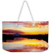 Jantzen Beach Sunrise Weekender Tote Bag