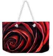 January Rose Weekender Tote Bag
