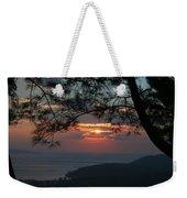 January Sunset Akyaka Weekender Tote Bag