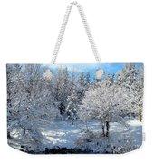 January Trees Weekender Tote Bag