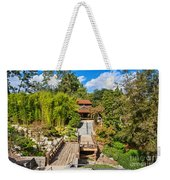 Japan In Pasadena - Beautiful View Of The Newly Renovated Japanese Garden In The Huntington Library. Weekender Tote Bag