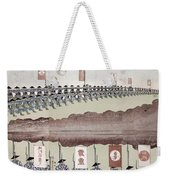 Japan Military Training Weekender Tote Bag