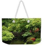 Japanes Garden Reverie Portland Oregon Weekender Tote Bag