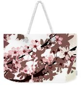 Japanese Blossom Weekender Tote Bag by Sarah OToole