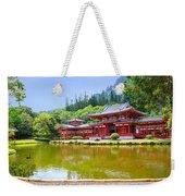 Japanese Byodoin Temple Weekender Tote Bag