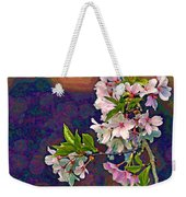 Japanese Cherry Blossom Branch Weekender Tote Bag