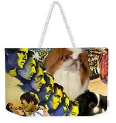 Japanese Chin Art - Julius Caesar Movie Poster Weekender Tote Bag