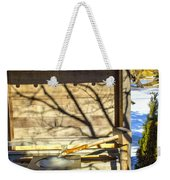 Japanese Fountain Weekender Tote Bag