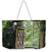 Japanese Garden Gate  Weekender Tote Bag