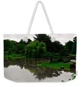 Japanese Garden Point Weekender Tote Bag