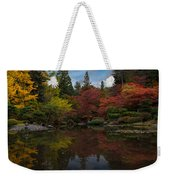 Japanese Garden Reflection Weekender Tote Bag
