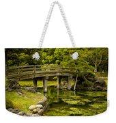 Japanese Garden Tokyo Weekender Tote Bag